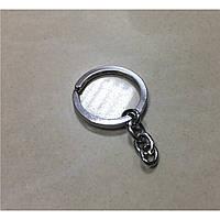 Кольцо с цепочкой. Качество. 28мм