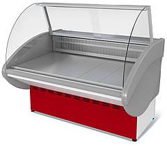 Витрина 1,2 метра холодильная ВХС-1,2 Илеть (0...-7 С) статика