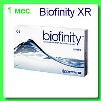 Biofinity XR контактные линзы  (3+подарок) 648 грн