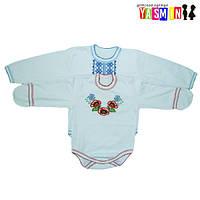 Боди-вышиванки для новорожденных в Украине. Сравнить цены 8eeb0bff10071