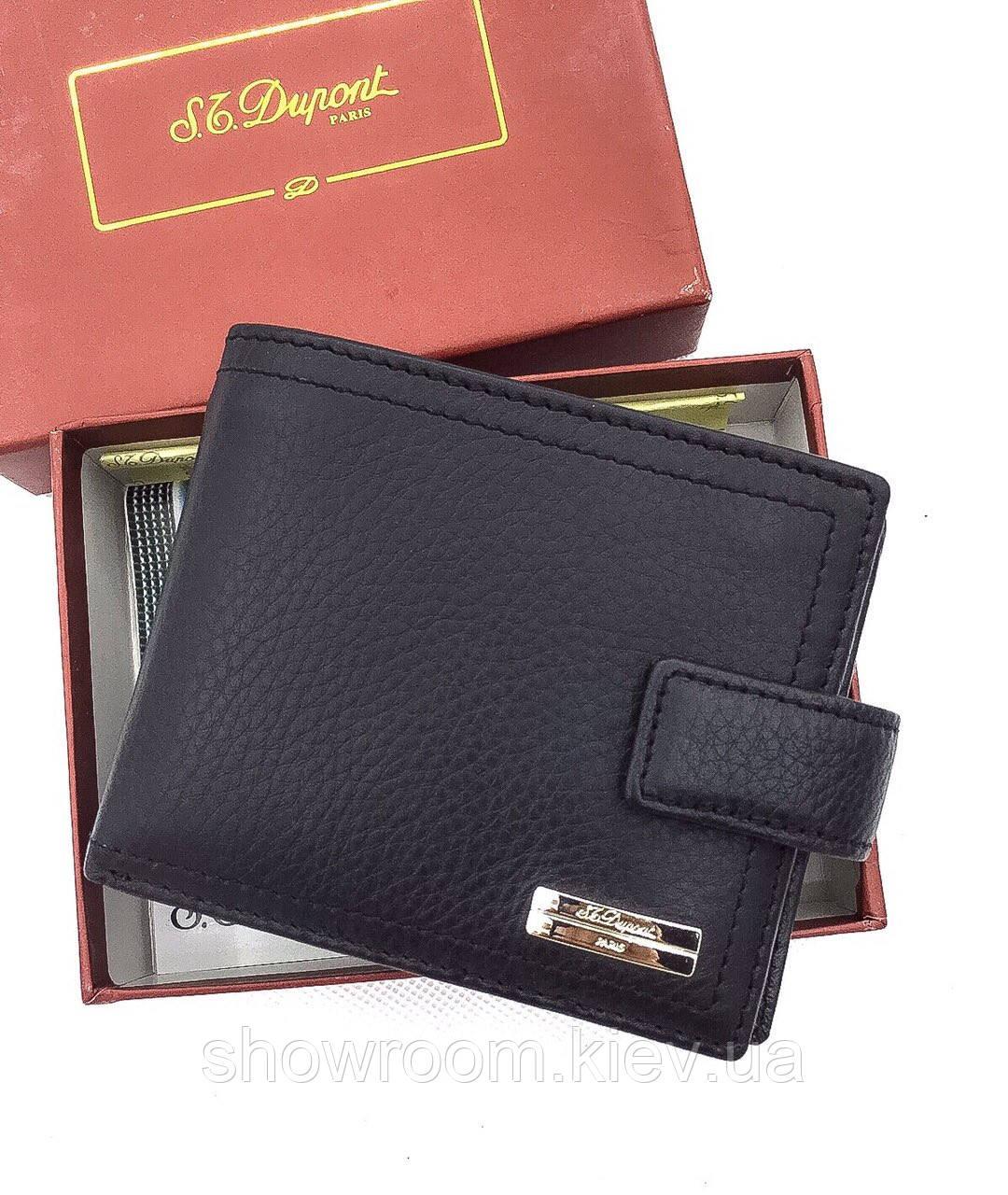 Мужское портмоне в стиле Dupont (51099) black