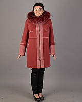Пальто зимнее свингер