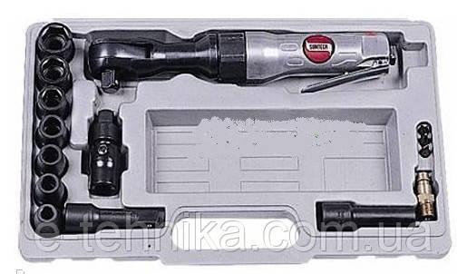 Пневматический ударный гайковерт SM-31K в наборе с трещоткой