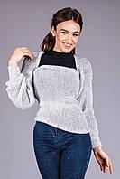 Оригинальный свитер-шарф