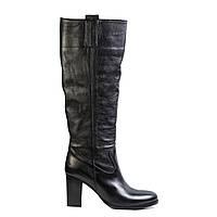 Сапоги женские кожаные Venezia 8064 черн., фото 1