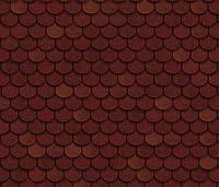 Битумная черепица SHINGLAS Классик Танго, красный, 3 кв.м./упаковка, фото 1