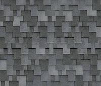 Битумная черепица SHINGLAS Ультра Джайв, серый, 3 кв.м./упаковка, фото 1