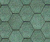 Битумная черепица KATEPAL Classic KL, зеленый, 3 м.кв./упаковка