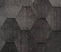 Битумная черепица KATEPAL Jazzy, серый, 3 м.кв./упаковка, фото 1