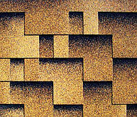 Битумная черепица KATEPAL Rocky, золотой песок, 3 м.кв./упаковка