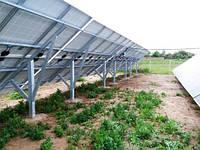 Фотоотчет установки сетевой солнечной электростанции на 30 кВт (Разумовка, Запорожская обл.)