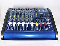 Профессиональный аудио микшерный пульт Mixer BT-6300D 7ch 7 ми канальный