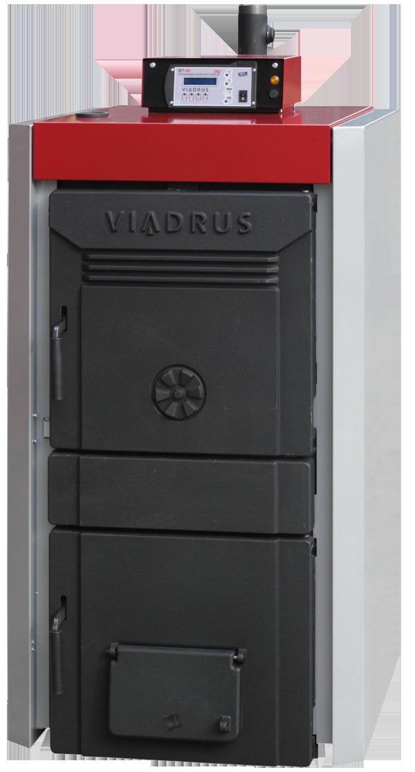 Пиролизные газогенераторные котлы на твердом топливе Viadrus Lignator 10 (Виадрус Лигнатор 34 кВт)
