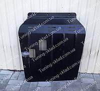 Защита картера Митсубиси Аутлендер ХЛ увеличенная (стальная защита двигателя Mitsubishi Outlander XL)