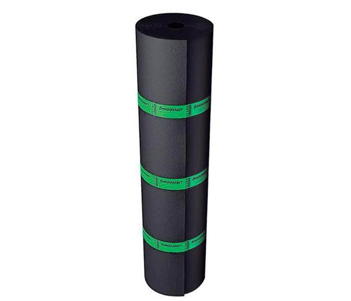 Бикроэласт ХКП сланец серый 10х1м. 4кг./м.кв.
