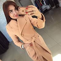 Пальто женское , ткань Кашемир + подкладка Молоко, шоколад, бежевый, карамель. черный ля № глянец