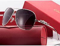 Солнцезащитные очки Cartier 205 silver