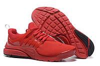 "Кроссовки Nike Air Presto ID ""Red"" - ""Красные"" (Копия ААА+), фото 1"