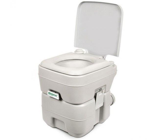 Биотуалет Кемпинг PortaFlush 20 л (туалет для дачи, кемпинга, ухода за больными и инвалидами). Хит продаж!