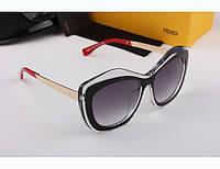 Солнцезащитные очки Fendi 1566 (красная дужка)