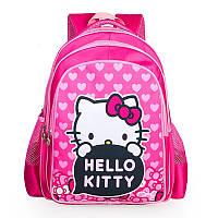 Рюкзак для девочки-первоклассницы Hello Kitty