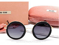 Солнцезащитные очки Miu Miu (omu 54 ns) black