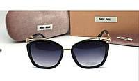 Солнцезащитные очки Miu Miu (8526) black