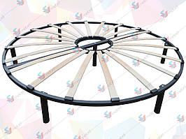 Ортопедический двухконтурный каркас для круглой кровати D2400мм