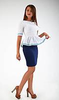 """Оригинальная нарядная блуза-вышиванка """"063"""", фото 1"""