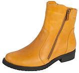 Ботинки женские кожаные демисезонные, фото 5