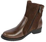 Ботинки женские кожаные демисезонные, фото 2