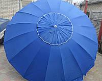 Пляжный зонт, торговый зонтик, садовый, диаметр 3,2 м, круглый зонтик от солнца, зонт 16 спиц с клапаном