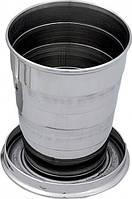 Раскладной металлический стаканчик 110 мл