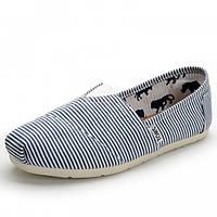 Эспадрильи Toms Classic White/Blue - 439
