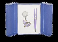 Набор подарочный LANGRES Heart (ручка шариковая + брелок)