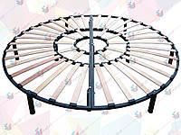 Трехконтурный каркас для круглой кровати D2000мм