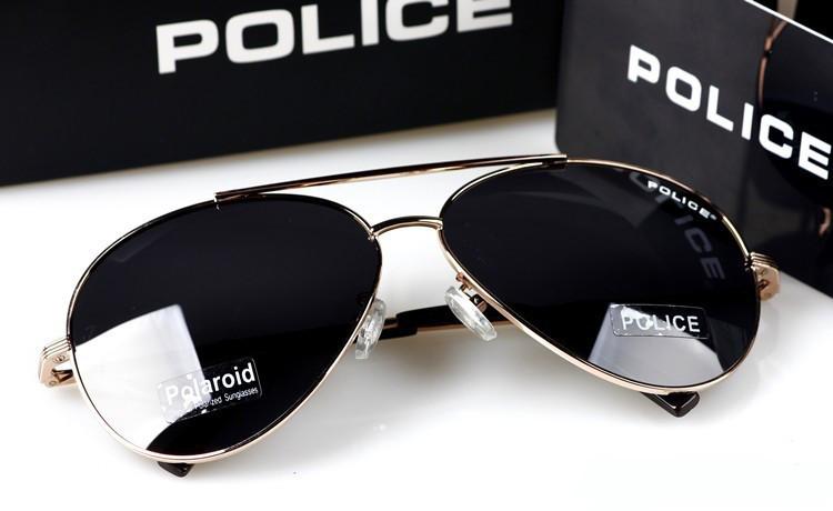 Солнцезащитные очки Police (8585) золотая оправа - shokeru.in.ua интернет- 65305d60599d6