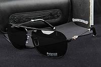 Солнцезащитные очки Chrome Hearts (черная оправа)