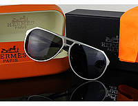 Солнцезащитные очки Hermes (8807) silver