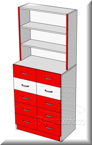 Шкаф с ящиками для аптек