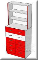 Шкаф с ящиками для аптек, фото 1