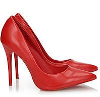 Женские туфли лодочки на высоком каблуке от 35