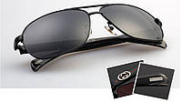 Солнцезащитные очки Gucci (10003) золотая оправа