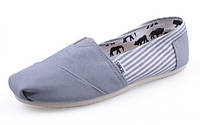 Эспадрильи Toms Classic White/Grey - 439