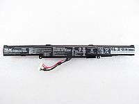 Asus A41-X550E, 44Wh (2950mAh), 4cell,  15V,  Li-ion, черная, ОРИГИНАЛЬНАЯ