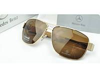 Солнцезащитные очки Mercedes (618) золотая оправа