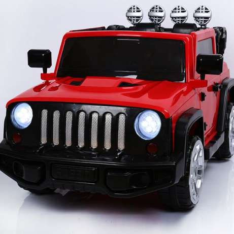 Детский электромобиль джип Range Rocky FT 1358