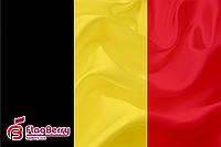 Флаг Бельгии  80*120 см., искуственный шелк