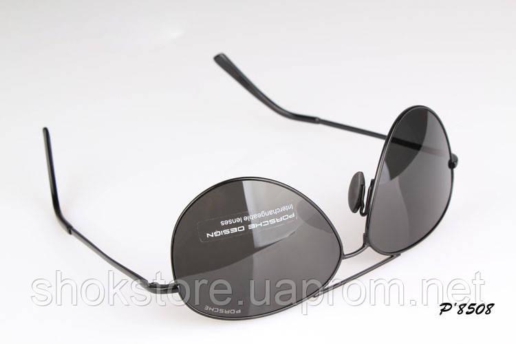Солнцезащитные очки Porsche Design c поляризацией (p-8508 new черная  оправа) - shokstore a621c8782ab84