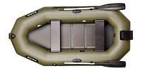 Надувная лодка Bark B-260N двухместная с навесным транцем, гребная